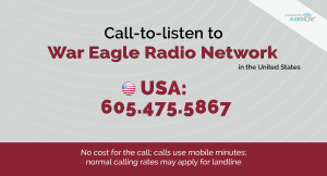 War Eagle Radio Network Web Banner (new)